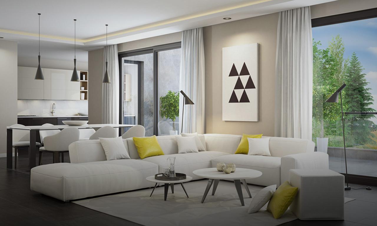 Captivating Wohnbeispiel Wohnzimmer | Quartier Werkstatt, Hause Deko
