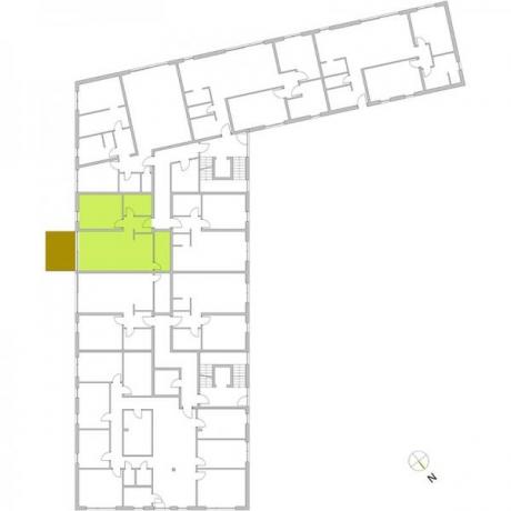 Ortungsgrundriss Erdgeschoss - Wohnung 04