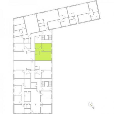 Ortungsgrundriss Erdgeschoss - Wohnung 05