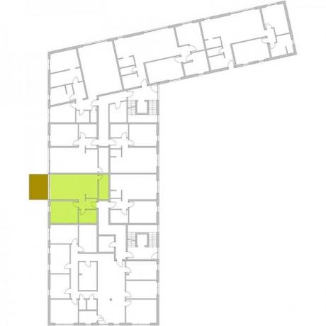 Ortungsgrundriss Erdgeschoss - Wohnung 06
