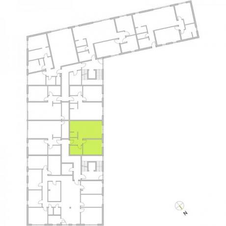 Ortungsgrundriss Erdgeschoss - Wohnung 07
